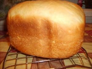 Белый хлеб в хлебопечке Мулинекс