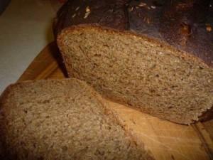 Ржаной хлеб в хлебопечке Moulinex