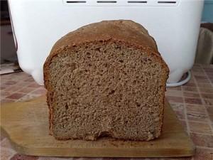 Рецепт серого хлеба в хлебопечке